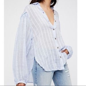 Free People Headed to the Highlands shirt size S